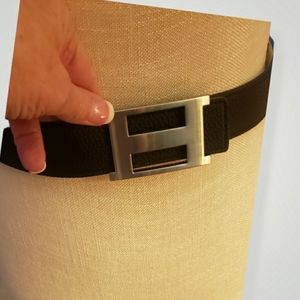 Unisex Contemporary Belt Stainless Steel Buckle